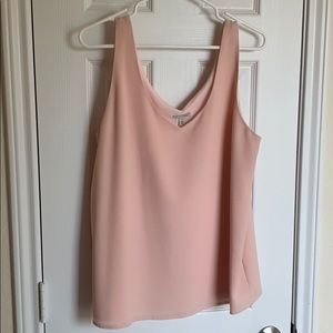 Nordstrom Rack Halogen Pale Pink Top